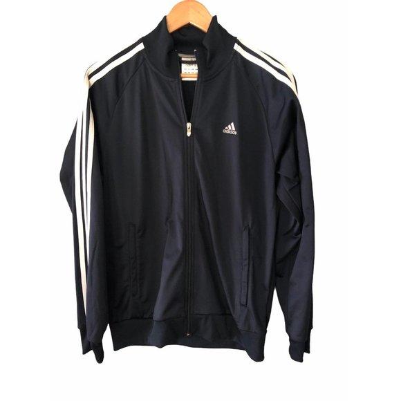 Adidas Navy Jacket Men's Medium
